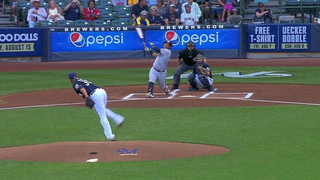 Solarte's solo home run