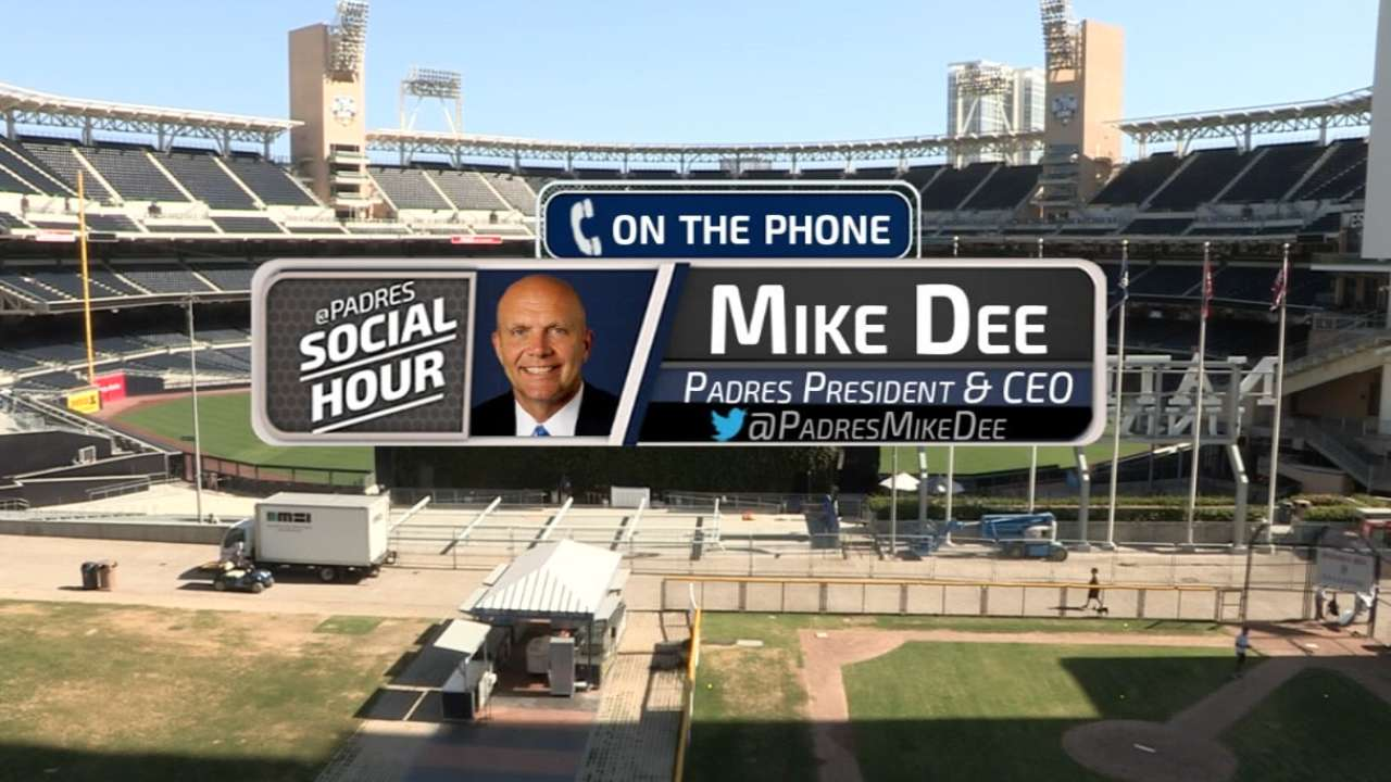 Dee discusses Padres at Deadline, HOF excitement