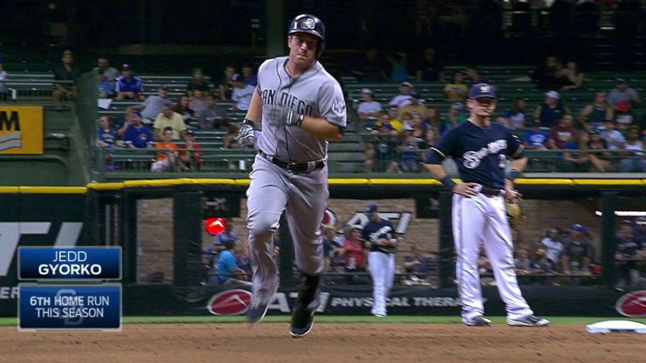 After stint in Minors, Gyorko's found his swing