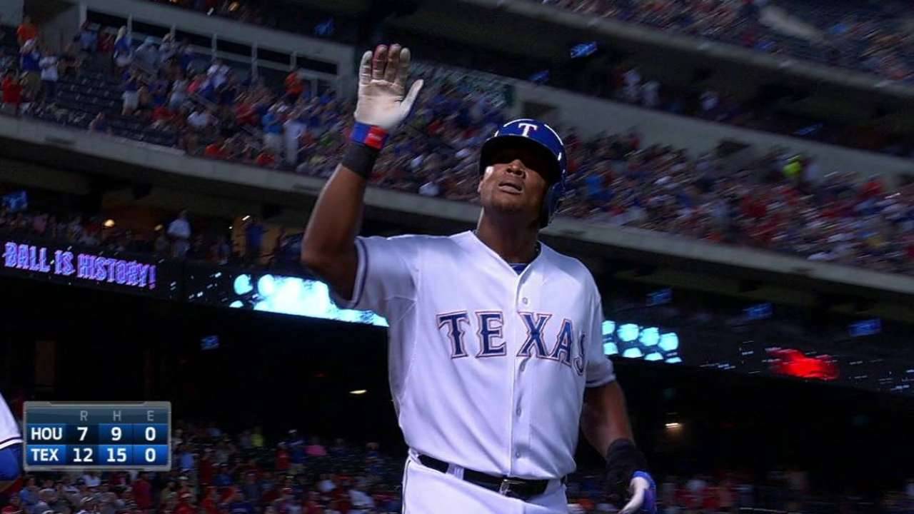 Rangers ride Beltre's cycle to victory