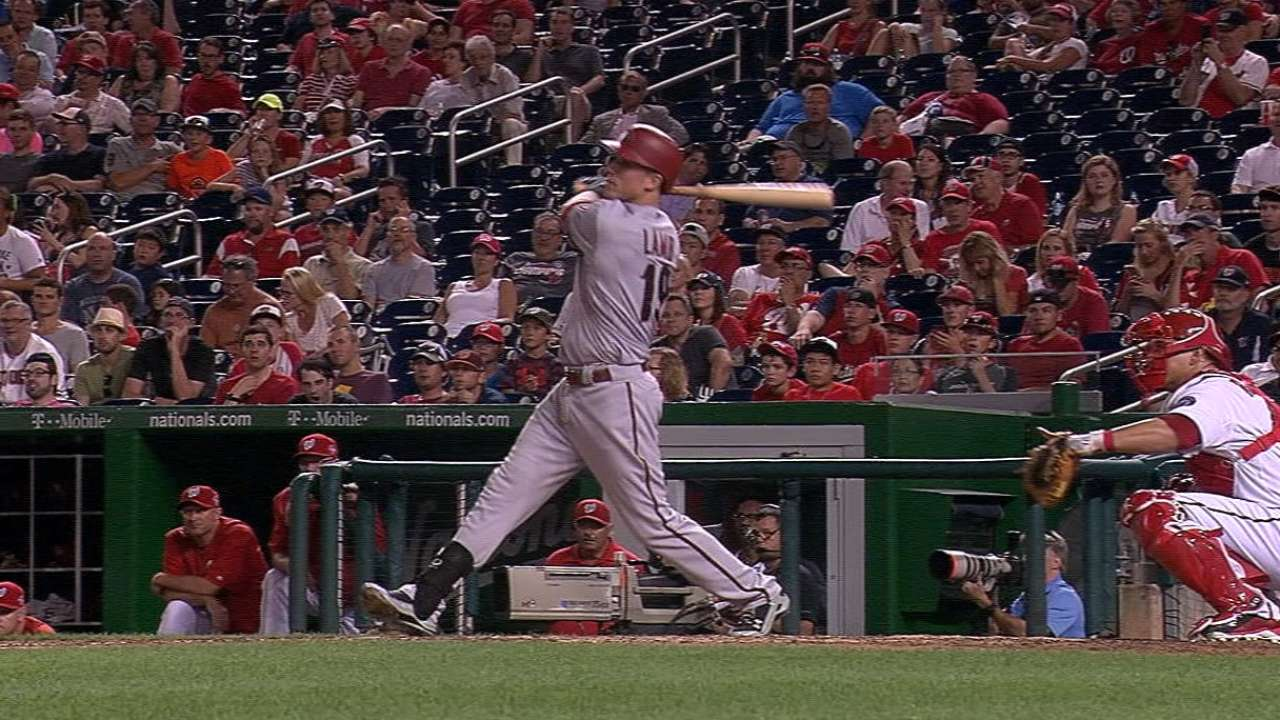 Godley dazzles as D-backs hold off Nats