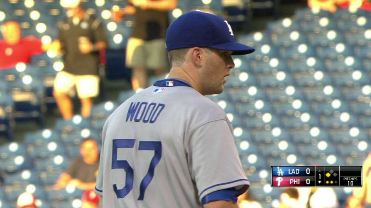 Bullpen slips up as Dodgers fall to Phillies