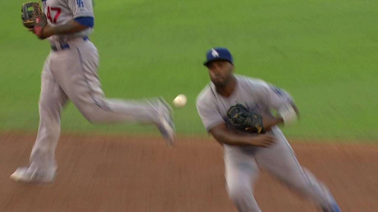 Rollins' nice play