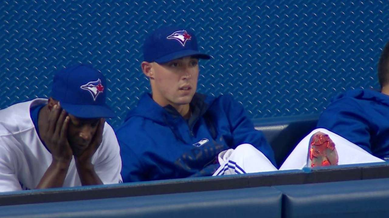 Blue Jays' booth on suspension