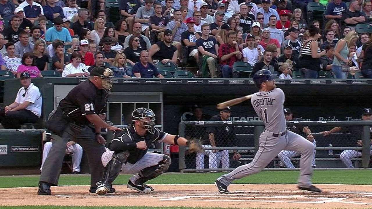Forsythe's two-run homer