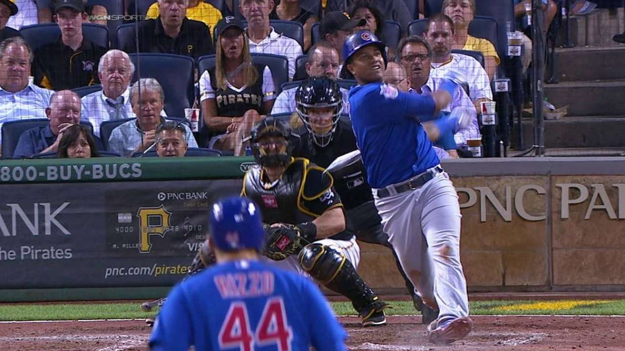 Starlin shows signs of heating up down stretch