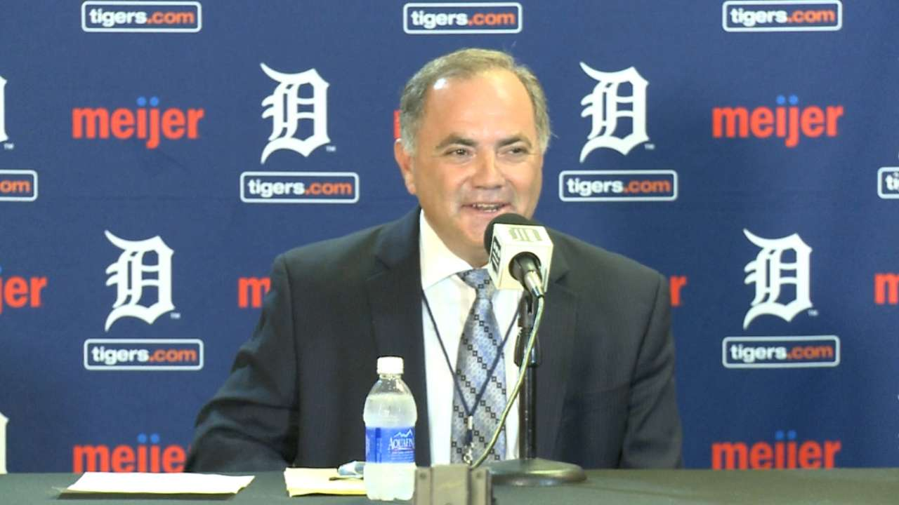 Avila relishes opportunity as new Tigers GM