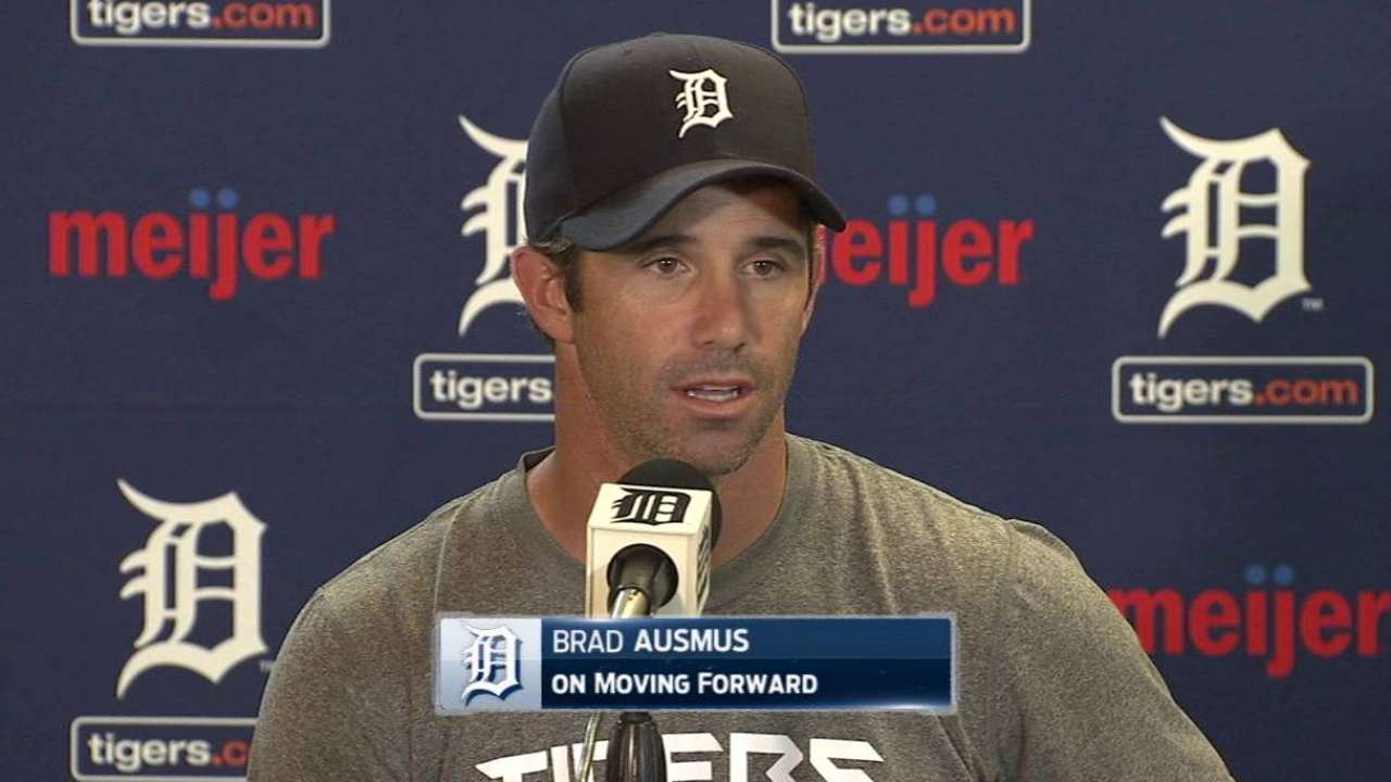 Ausmus controlling only what he can