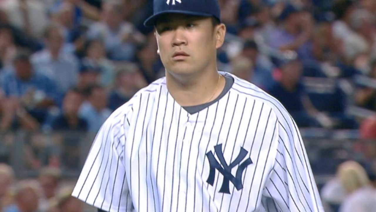 Yanks' rotation success depends on effective Tanaka