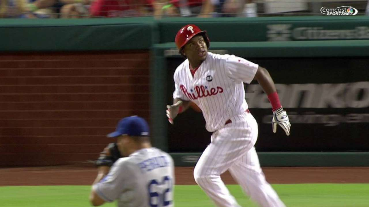 Phillies' future on full display in stirring win