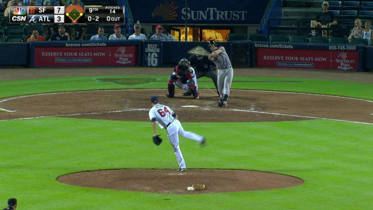 Posey's RBI single