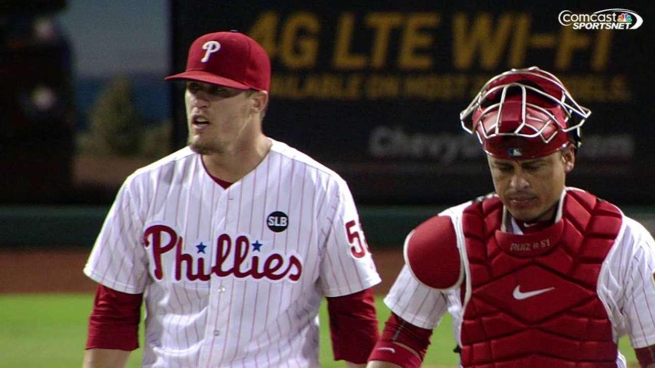 Franco's slam spoils Rollins' grand Philly return