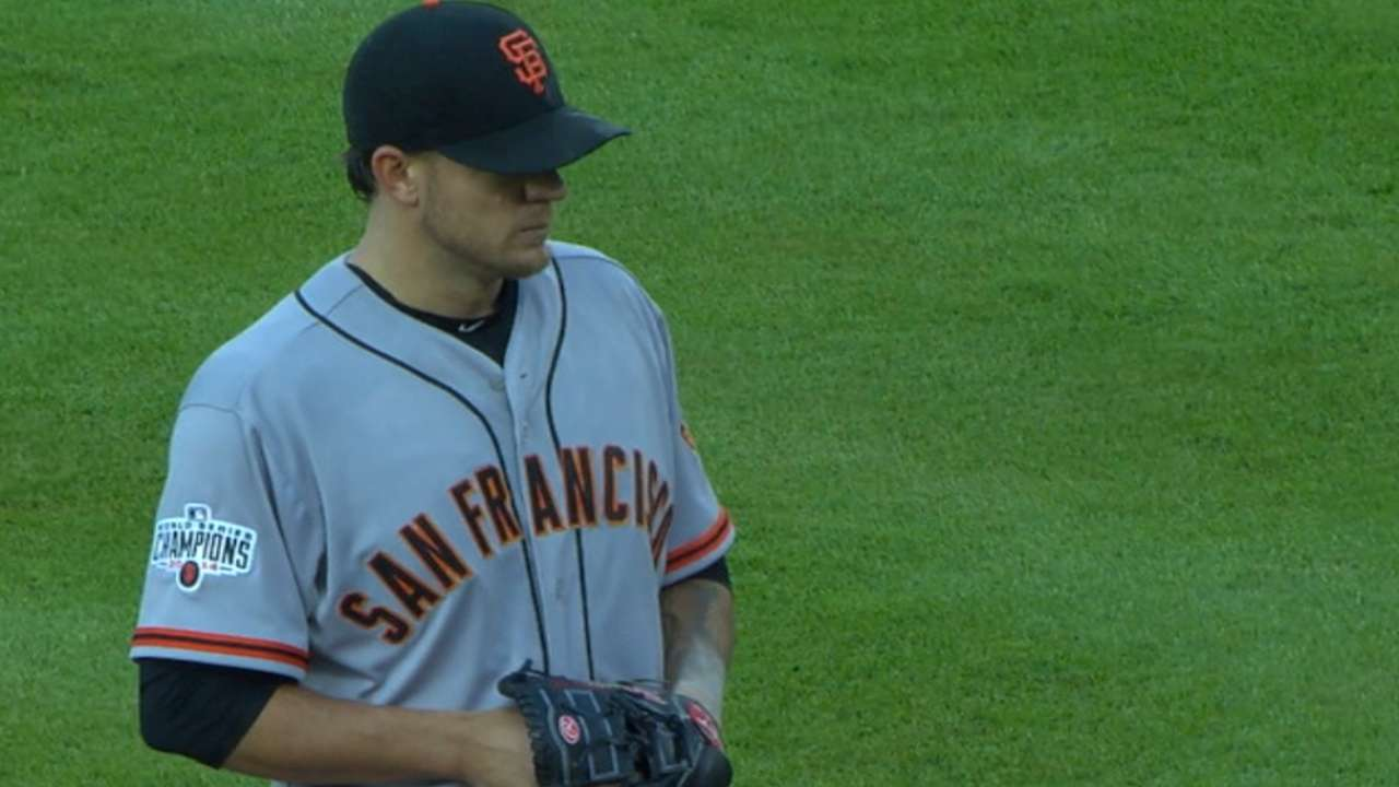 Peavy strikes out eight Braves