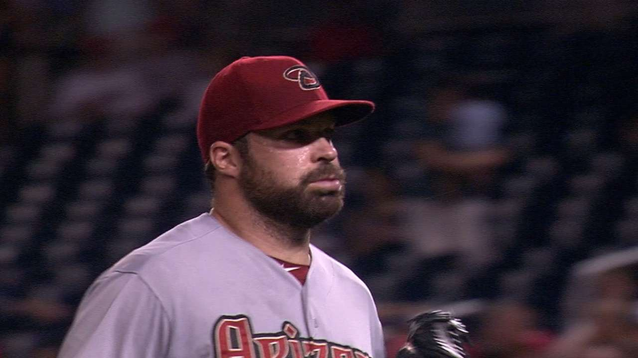 Collmenter steps up after Corbin labors