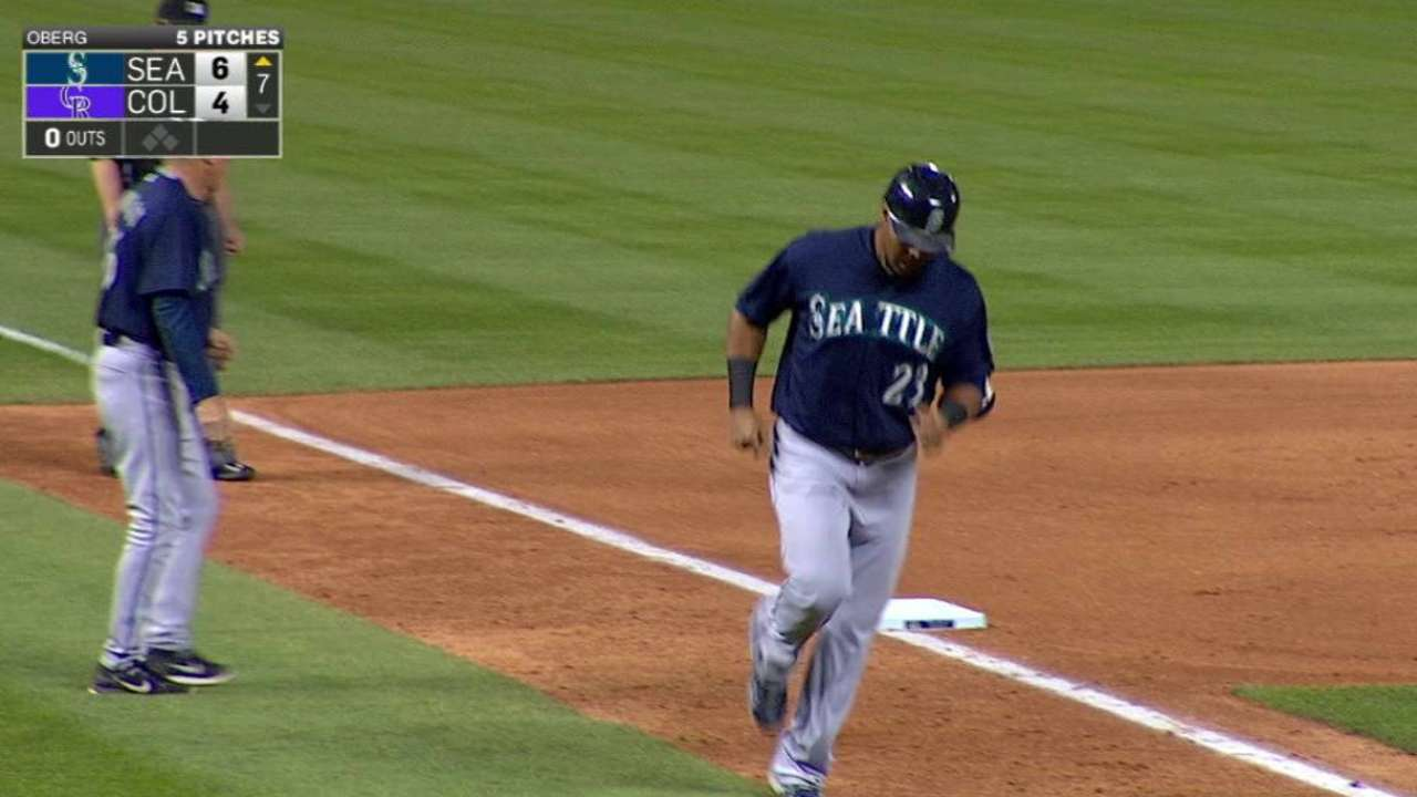 Cruz, Cano power Mariners past Rockies