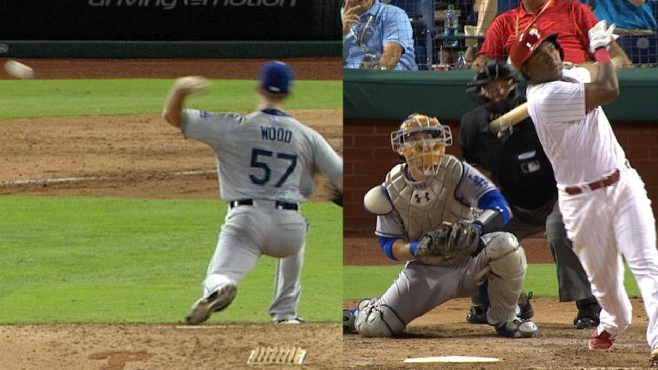 Wood's odd balk helps fuel Phils' rally vs. LA