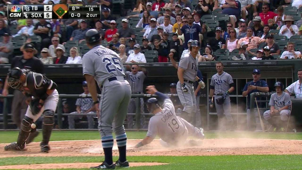 Guyer's game-tying double