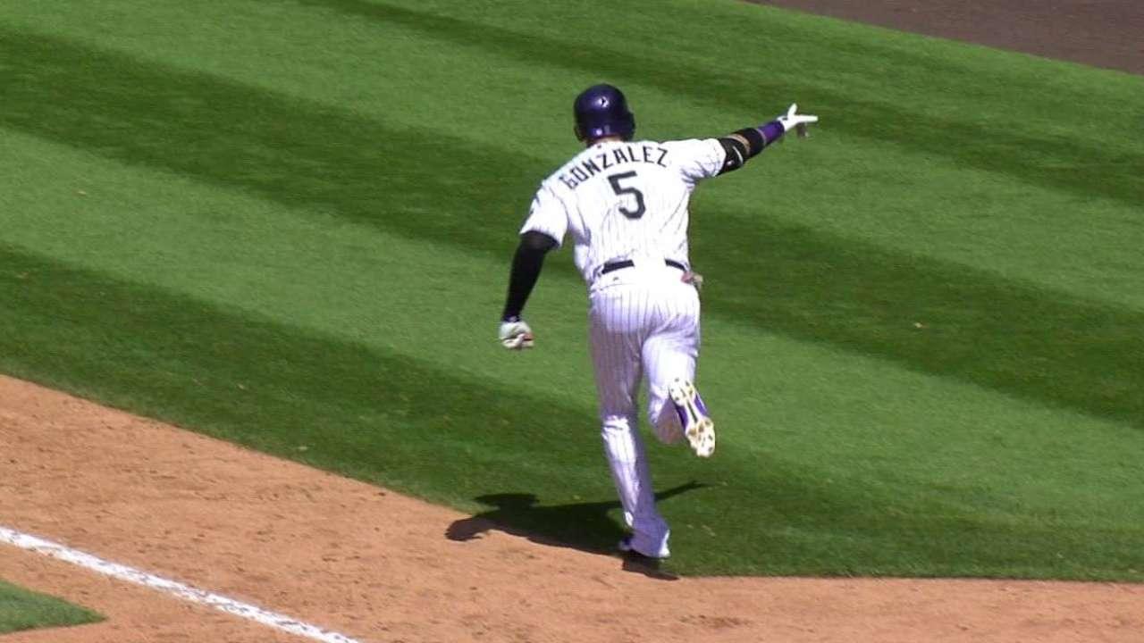 CarGo's three-run homer