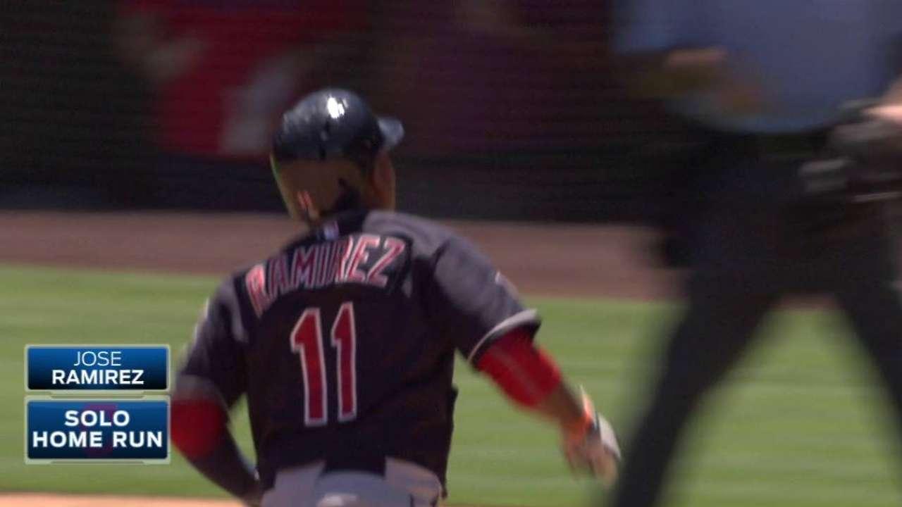 Ramirez's solo home run