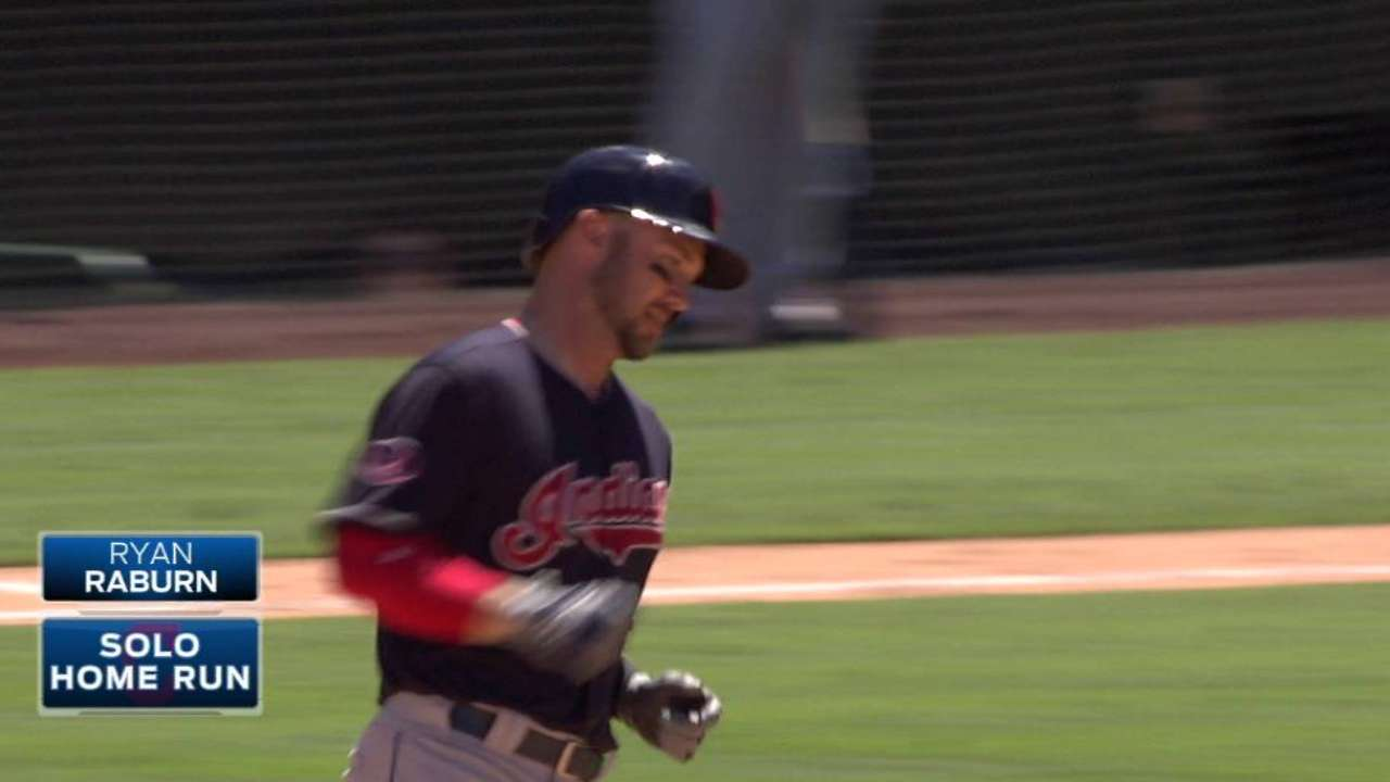 Indians place Raburn on bereavement list