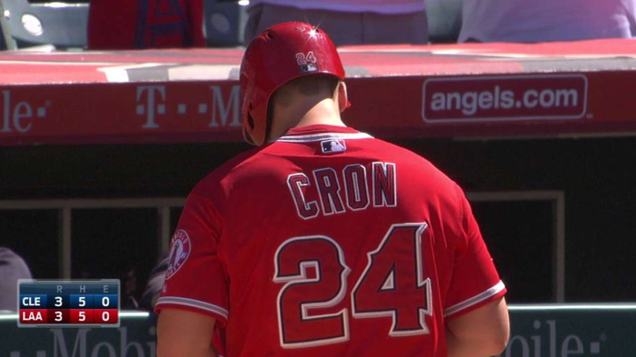 Cron's clutch game-tying single