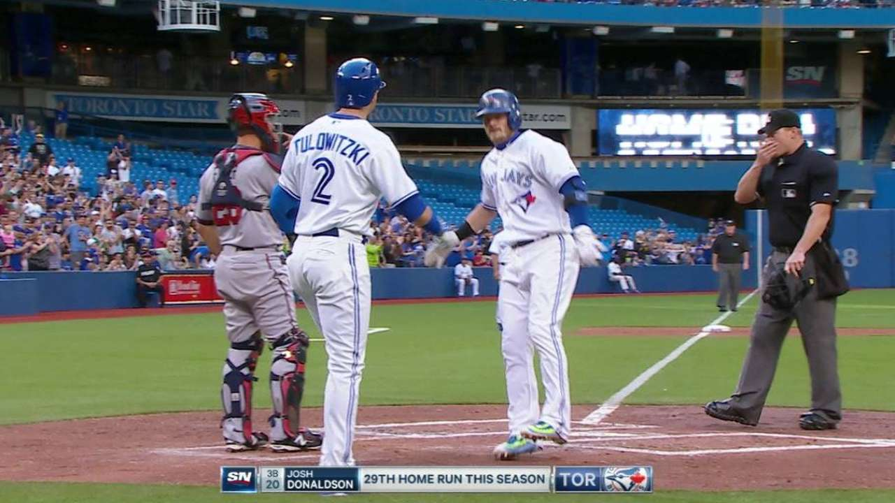 Donaldson's two-run blast