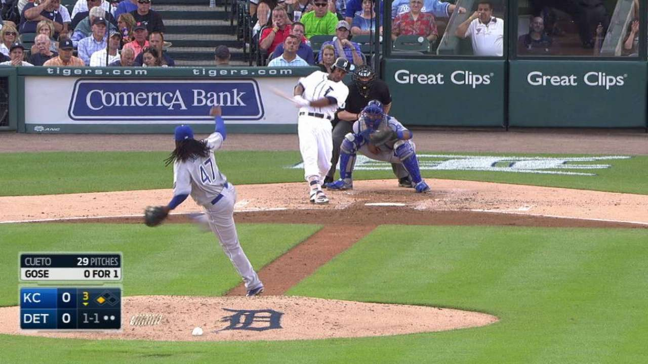 Gose's RBI triple