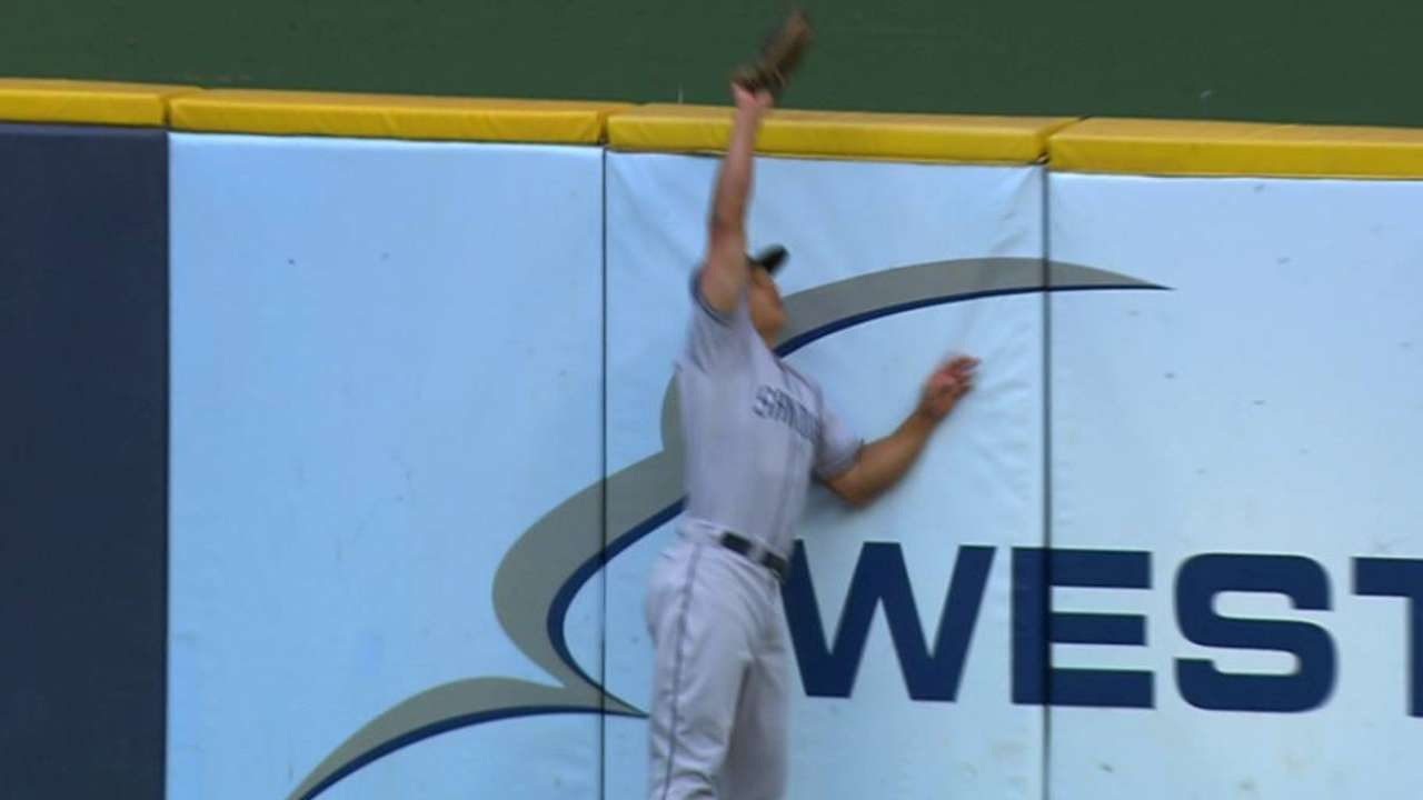 Venable's leaping catch