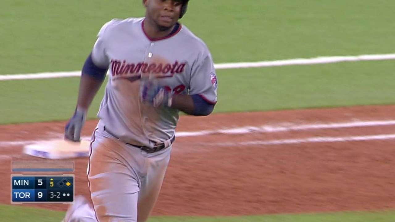 Sano's two-run home run