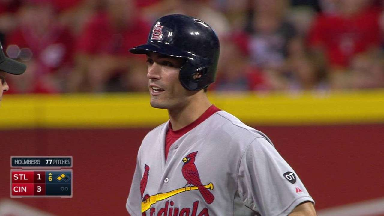 Grichuk's double stands in 6th