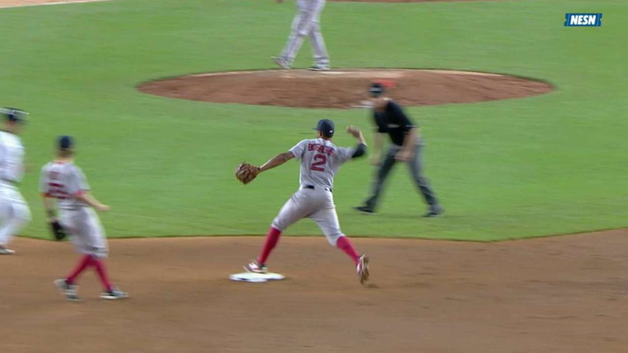 Wright gets lucky double play