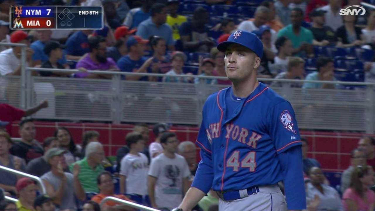 O'Flaherty shows rust in Mets debut