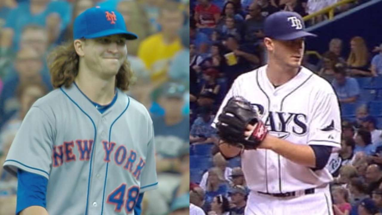 deGrom, Odorizzi set to duel