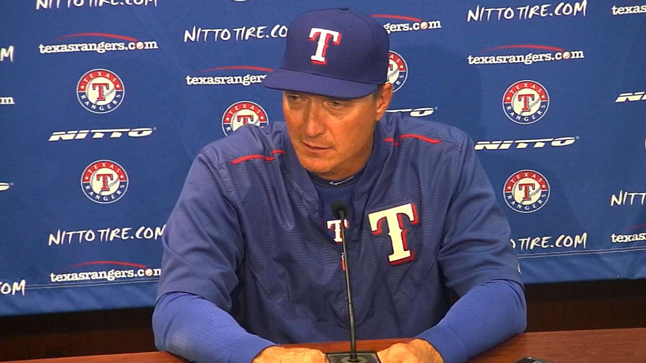 Banister on sweep of Astros