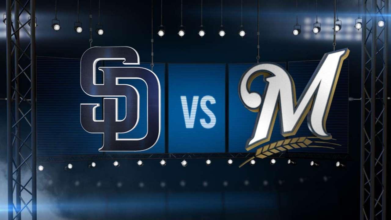 ICYMI: Padres go down swinging in Milwaukee