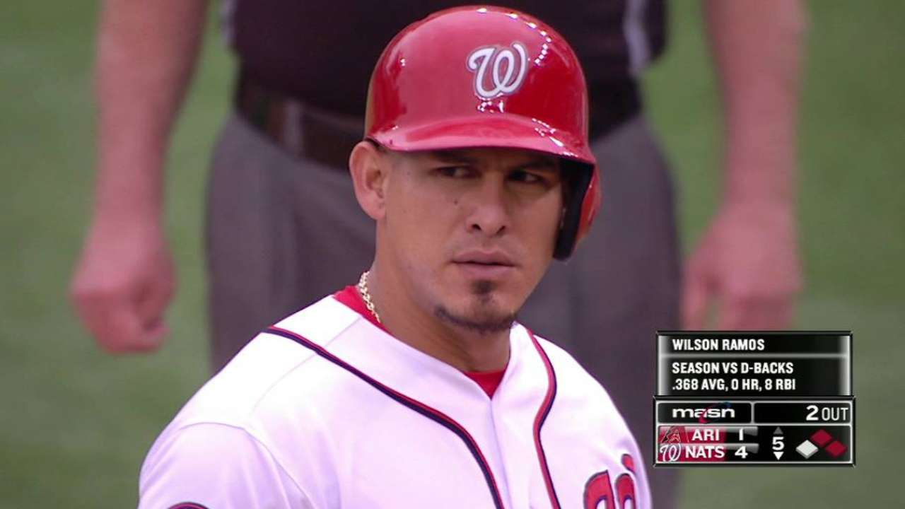 Nationals roll to earn series split with D-backs