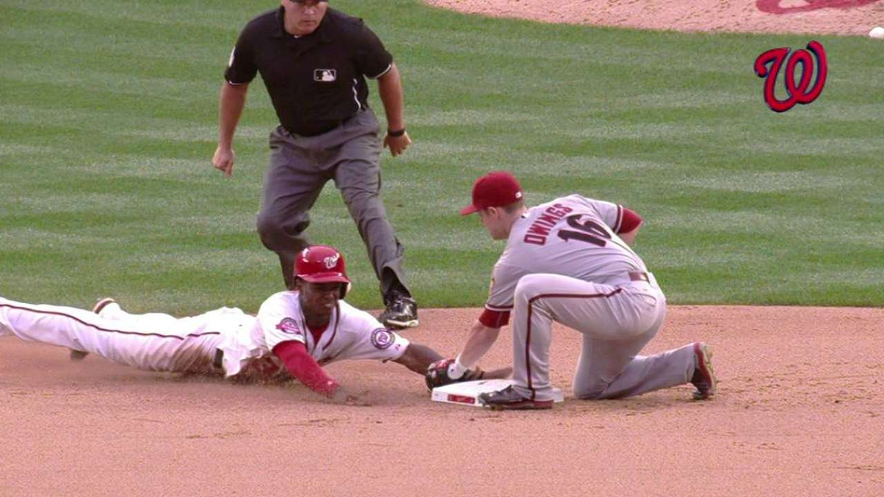 Taylor steals second