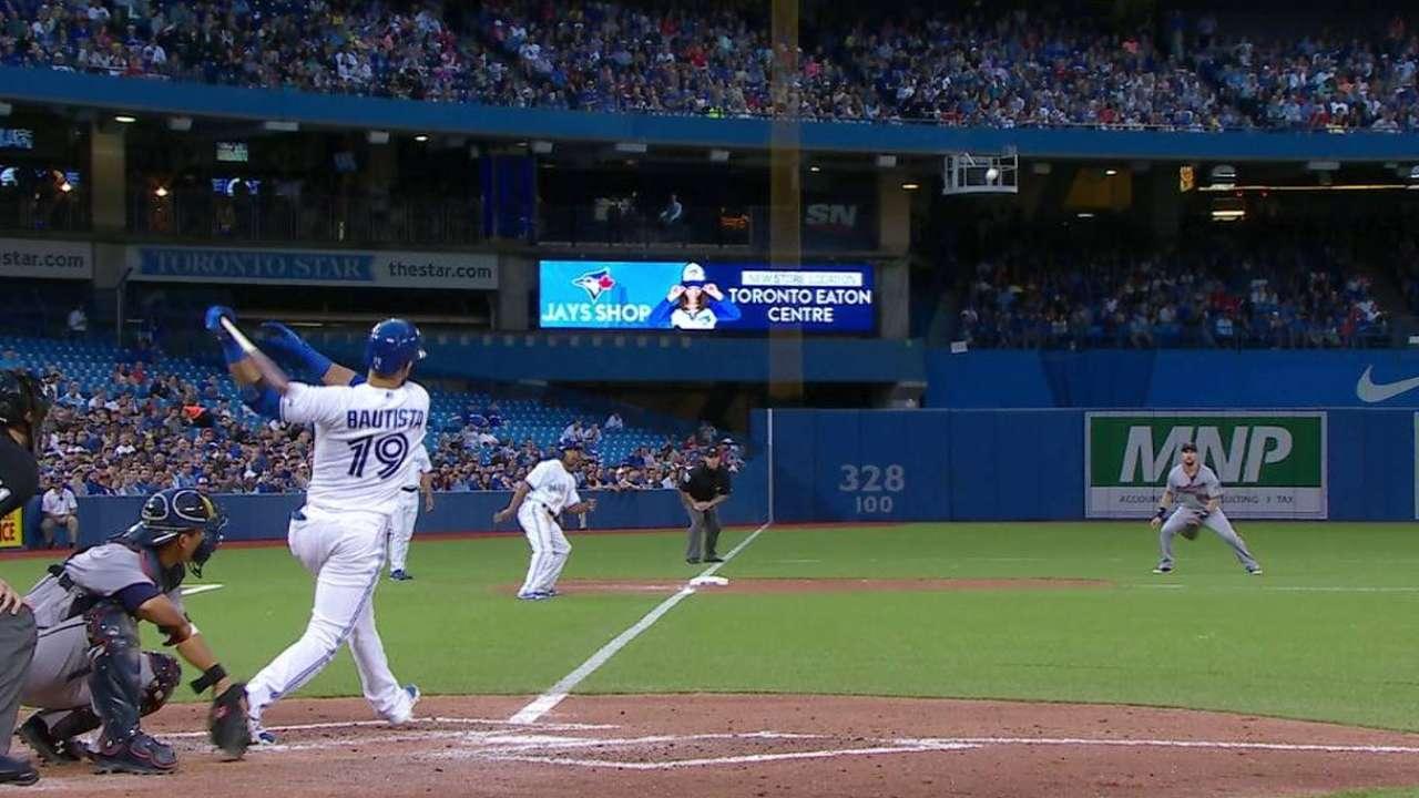 Bautista's RBI double