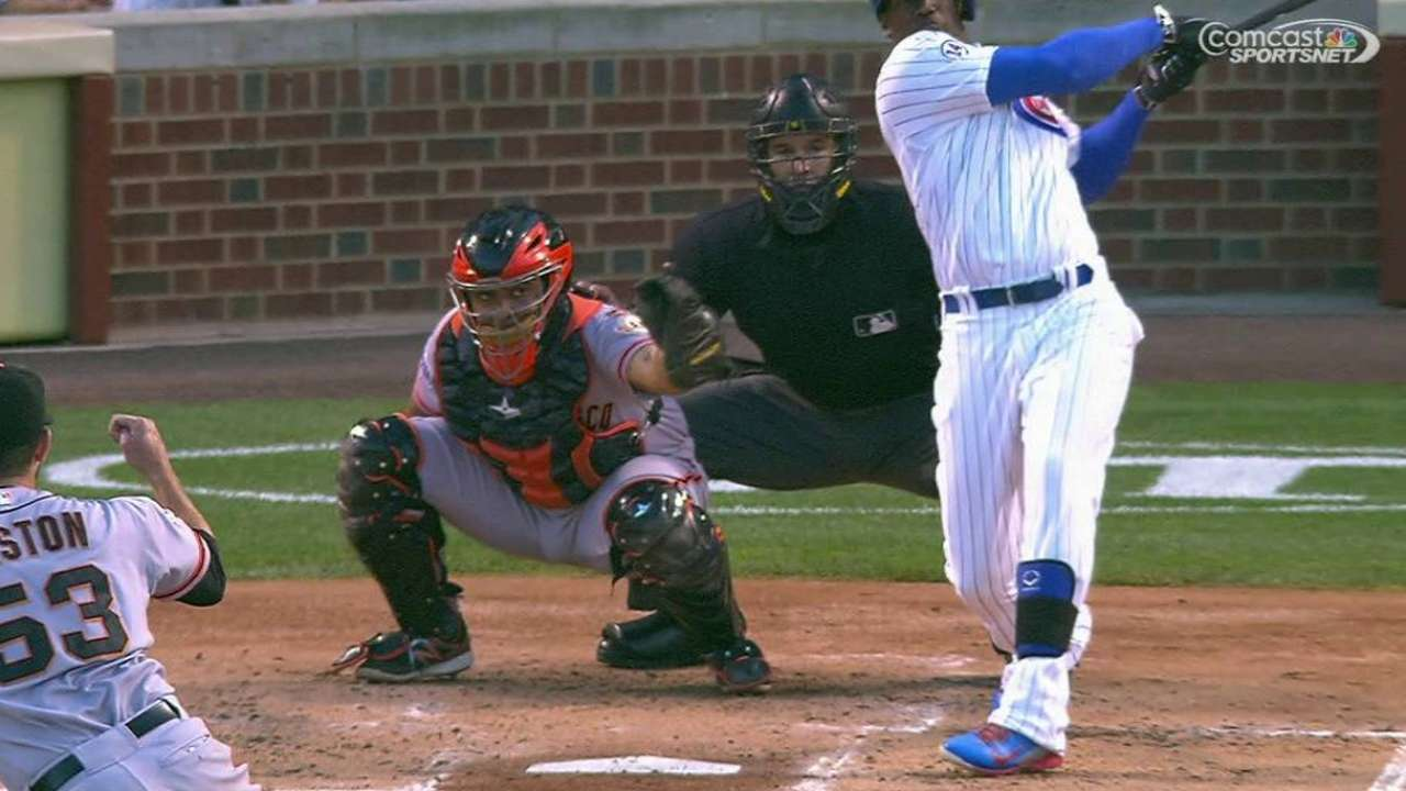 Giants a 'good test' for contending Cubs