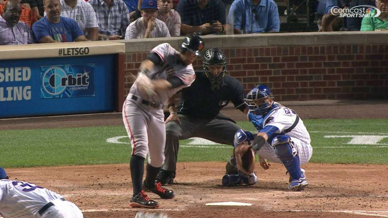 Giants' offense lacking outside of homers