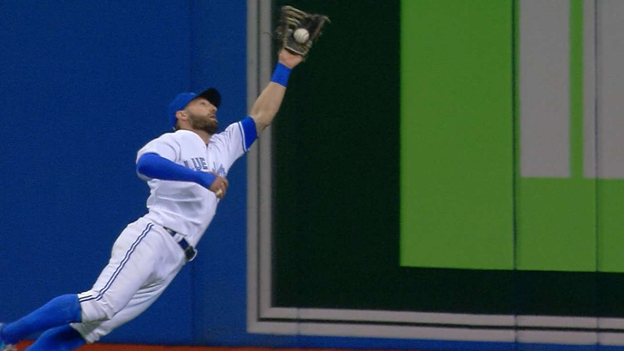 Pillar's amazing catch