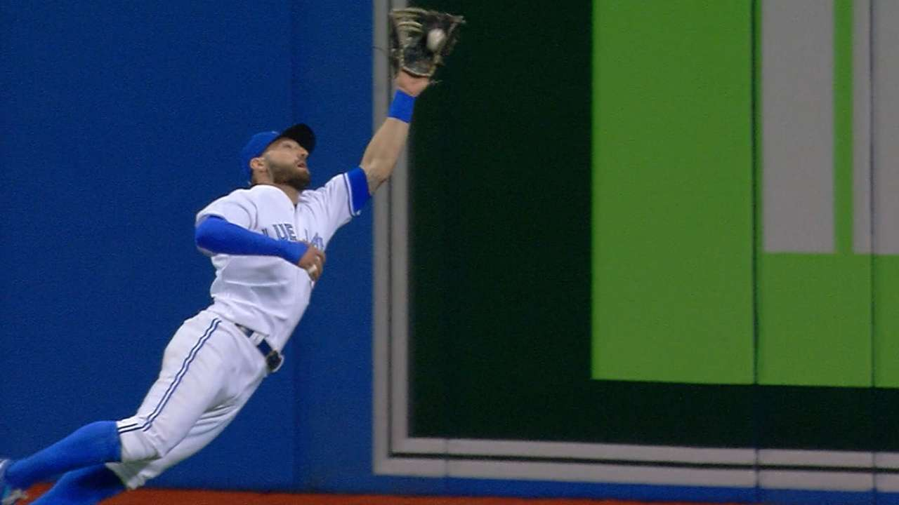 Pillar robs Sano with great grab