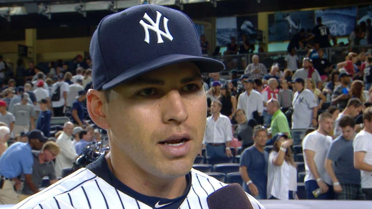 Ellsbury on Yankees' 2-1 win