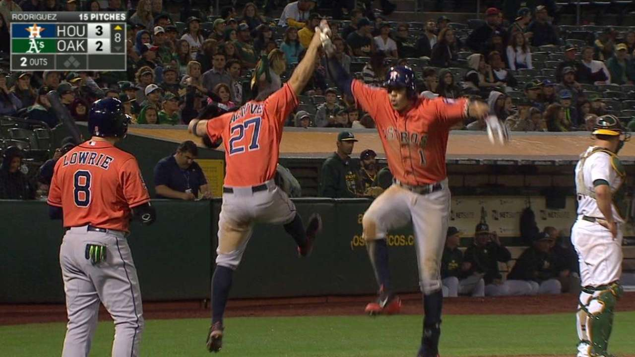 Correa's two-run homer