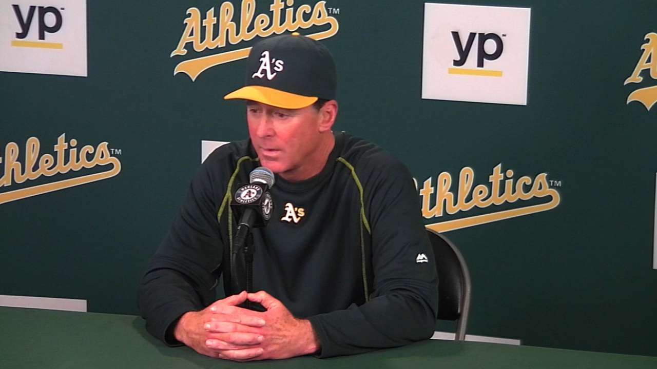 A's all too familiar with close losses