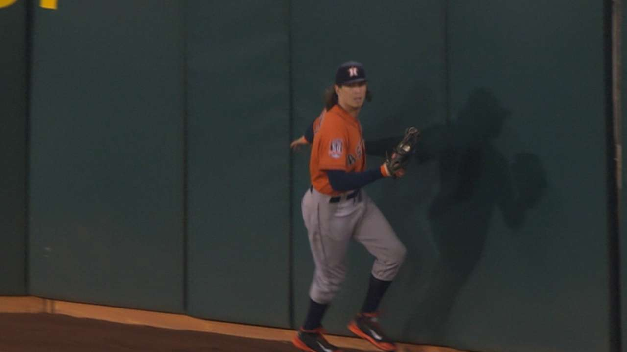 Rasmus' grab at the track in 9th