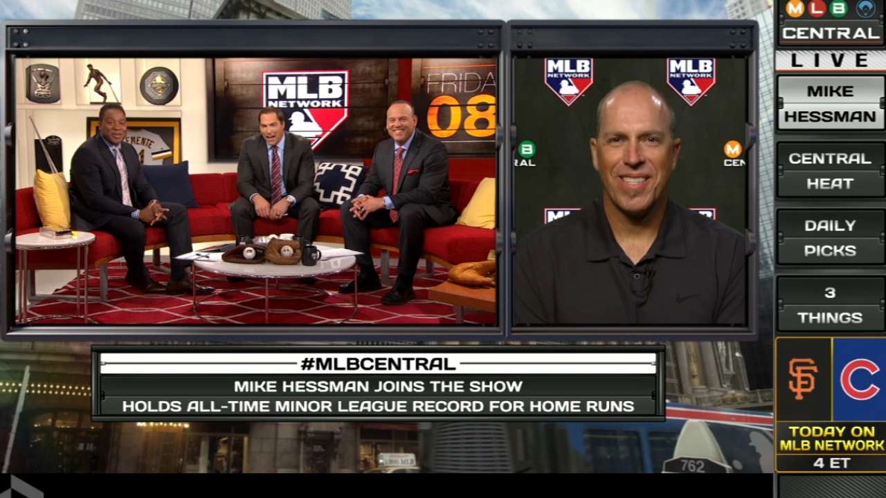 MLB Central: Mike Hessman