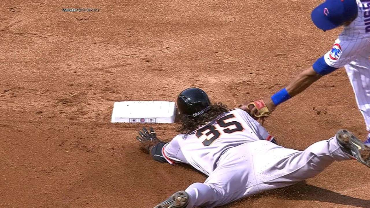 Russell's slick play