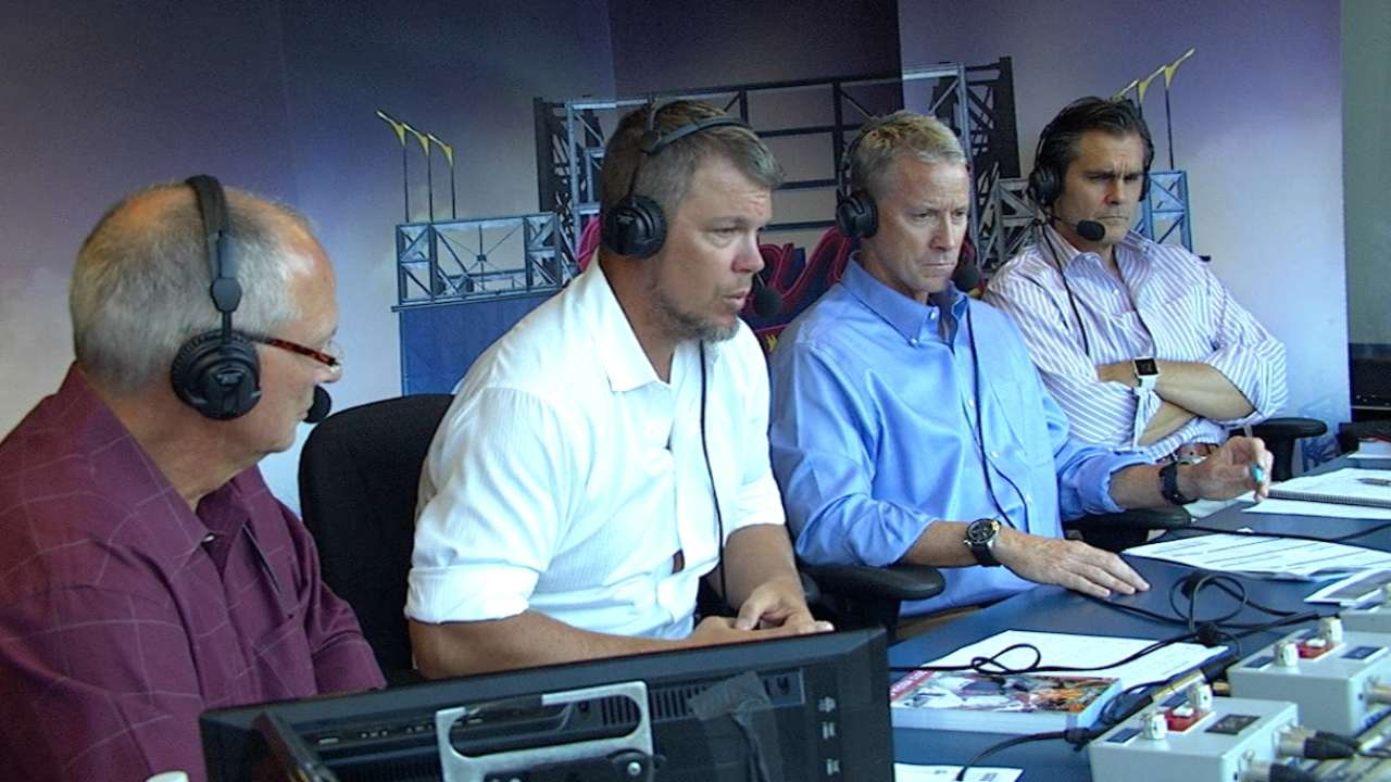 Chipper Jones joins the booth