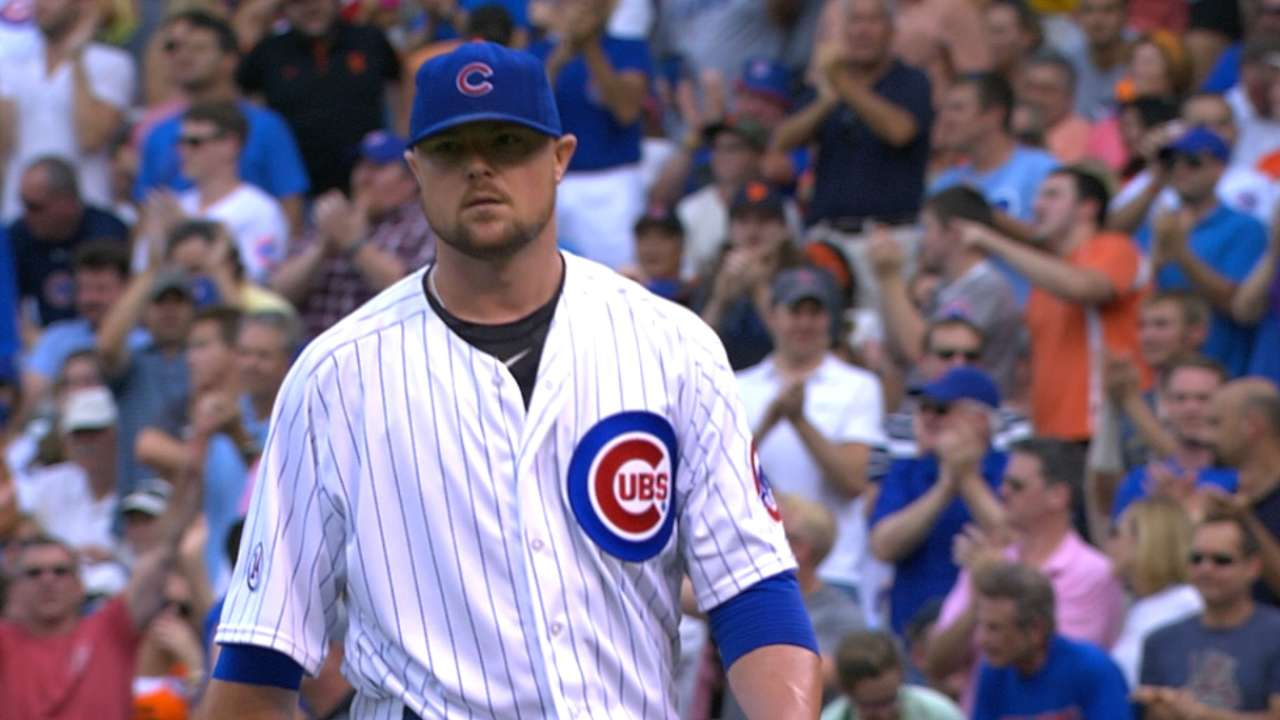 Lester gives Cubs an anchor for stretch run